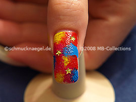 Nail Art Motivo 122