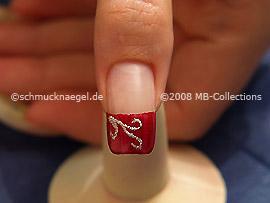 Nail Art Motivo 123