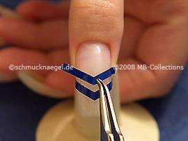 Plantillas para manicura francesa y pinzetao