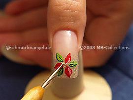 Spot-swirl y nail art bouillons