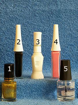 Productos para decoración de uñas con nail art liner - Esmalte, Nail art liner, Nail art pen, Esmalte transparente