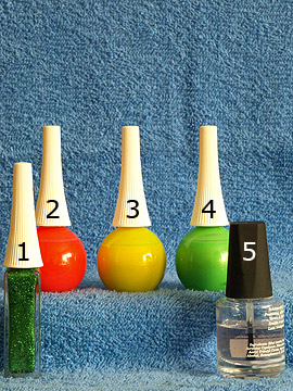 Productos para motivo 'Esmaltes en neón colores para decoracion de uñas' - Esmalte, Nail art liner, Esmalte transparente