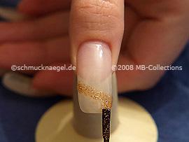 Esmalte de color marrón-Glitter