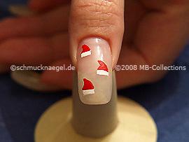 Motivo de Navidad 7 - Nail Art Motivo 147