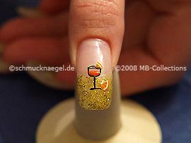 Nochevieja 5: Nail Art Motivo 151