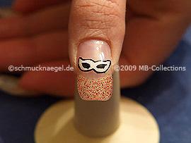 Gel de color motivo 003 - Nail art 158