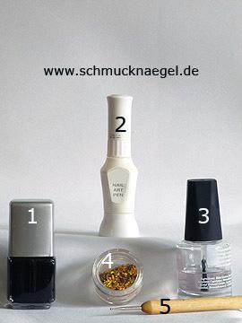Productos para motivo 'Lunas de holograma para decorar las uñas' - Esmalte, Nail art pen, Holograma, Spot-Swirl