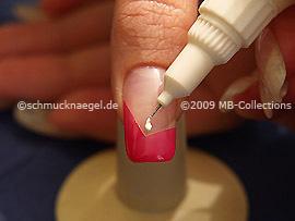 Nail art pen en blanco