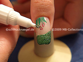Nail art pen de color lavanda