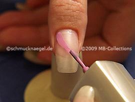 Esmalte de color lila