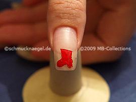 Motivo de navidad 11 - Nail Art Motivo 195