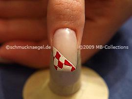 Motivo de carnaval 3: Nail Art Motivo 202