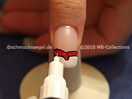 Nail art pen de color negro