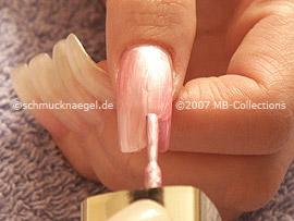 esmalte de color rosa
