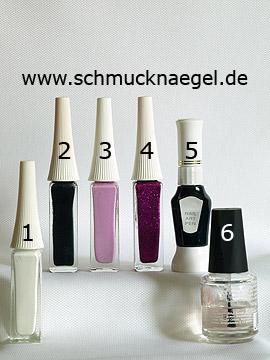Productos para motivo de flores para decoración en uñas - Nail art liner, Nail art pen