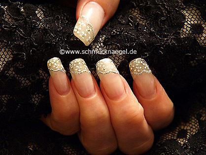Nail art pen y liner para manicura francesa
