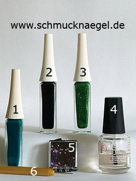 Productos para motivo 'Piedras strass de color lila para decorar las uñas' - Nail art liner, Spot-Swirl, Piedras strass