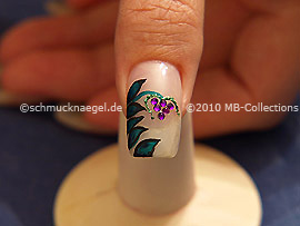 Nail Art Motivo 209