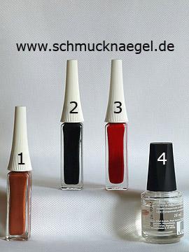 Productos para motivo 'La mariquita en diseño para uñas y nail art liner' - Nail art liner
