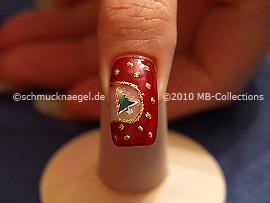Motivo de navidad 16 - Nail Art Motivo 245