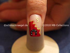 Nochevieja 6: Nail Art Motivo 246