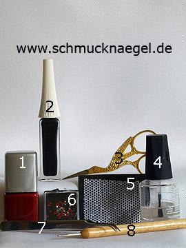Productos para motivo con encaje para uñas y piedras strass - Esmalte, Nail art liner, Encaje para uñas, Piedras strass, Spot-Swirl