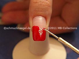 Nail art liner en oro