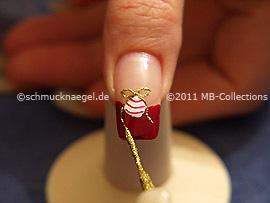 Motivo de navidad 18 - Nail Art Motivo 294