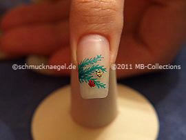 Motivo de Navidad 19 - Nail Art Motivo 295