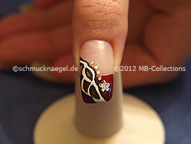 Nail art motivo 303