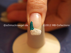 Motivo de navidad 20 - Nail Art Motivo 341