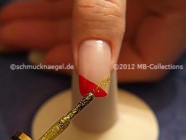 Esmalte en oro-Glitter