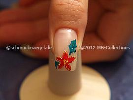Motivo de navidad 22 - Nail Art Motivo 343
