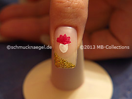 Motivo de carnaval 5: Nail art motivo 348