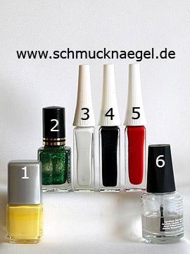 Productos para motivo pollito de Pascua decoración para uñas - Esmalte, Nail art liner