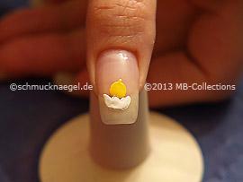 Motivo de Pascua 6: Nail Art Motivo 354