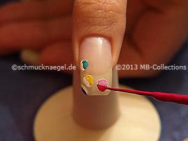 Nail art liner en diferentes colores