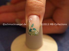Nail Art Motivo 360