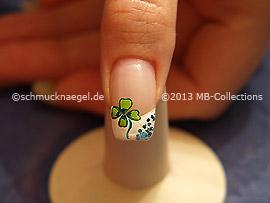 Nochevieja 7: Nail Art Motivo 372
