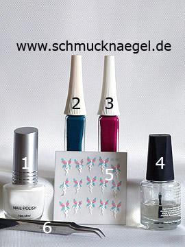 Productos para motivo con pegatina elfa para uñas y esmalte - Esmalte, Nail art liner, Nail sticker