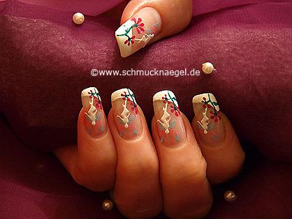 Pegatina elfa para uñas y esmalte