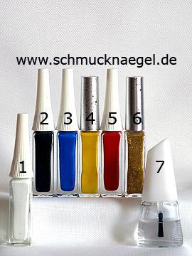 Productos para motivo pájaro para uñas con esmaltes - Nail art liner