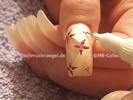 nail art pen de color lavanda