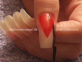 laca de uñas de color negro