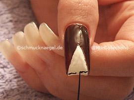 nail art liner de color negro
