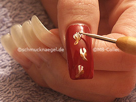 spot-swirl y los nail art bouillons en plata