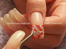 pinzeta y nail art shapes