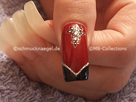 pinzeta y nail sticker