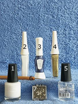 Productos para diseño con piedras strass - Esmalte, Nail art liner, Nail art pen, Esmalte transparente, Spot-Swirl, Piedras strass