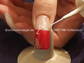 Nail art liner en blanco